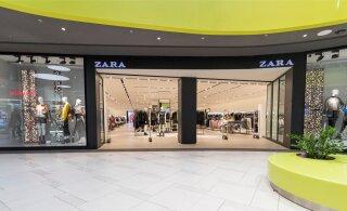Zara закрывает более тысячи магазинов по всему миру. Что будет в Эстонии?