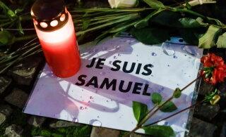Российские бойцы поддержали обезглавившего французского учителя чеченца