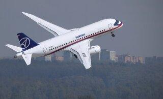 Venemaa lennukite Sukhoi Superset 100 müük on olnud naeruväärselt vilets