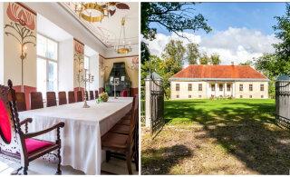 ФОТО И ВИДЕО | Легко ли продать мызу в Эстонии? Смотрите, какой шикарный особняк годами ждет нового владельца