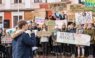 В Риге пройдет глобальная забастовка за решение проблемы изменения климата