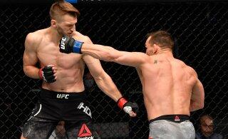 VIDEO | Imeline UFC debüüt lõppes vastase ülikarmi nokauteerimisega