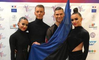 Eesti võistlustantsijad pääsesid EMil esikaheksasse