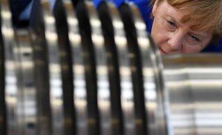 Saksa tööstused saadavad üha enam töötajaid koju puhkama