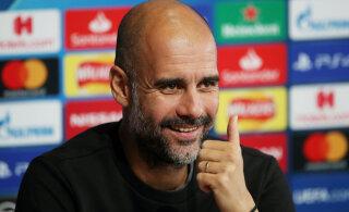 Pep Guardiola: kuna meid ei eemaldatud ühestki sarjast, ei rikkunud me ka mingeid reegleid