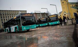 Водители таллиннских автобусов отгораживаются от пассажиров. Причина очевидна
