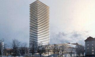 ФОТО | В центре Таллинна построят 30-этажную высотку. На верхних этажах будут квартиры