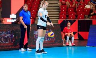 Eesti võrkpallikoondislane saadeti teist hooaega järjest koroonakriisi tõttu kodumaale