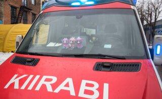 В ДТП под Таллинном пострадали пожилой мужчина и ребенок