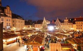 Уже сегодня! Открывается признанная лучшей в Европе Таллиннская рождественская ярмарка