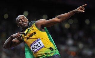 VIDEO   Hiljuti isaks saanud Usain Bolt pidas tütrega maha imearmsa vestluse