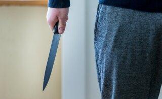 Ударившую ножом сожителя в Маарду девушку отправили в тюрьму на десять месяцев