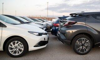 ГРАФИК | Больше всего автомобилей на жителя в странах Балтии было продано в Эстонии