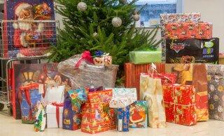 Жители Эстонии не намерены урезать траты на новогодние подарки