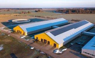 Põllumajandushoones annab energiatõhususe kõrgtehnoloogia