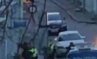 ВИДЕО: В Старом Таллинне полиция в усиленном составе задержала человека. Что случилось?