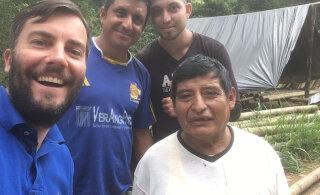 Roald Johannson alustab uue saatesarjaga Ecuadori džunglist