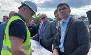 Михаил Кылварт: строительство улицы Рейди — приоритет 2019 года