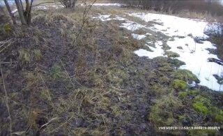 ВИДЕО: Нерадивый рыболов своим гуляньем по льду Харку спровоцировал масштабную спасательную операцию