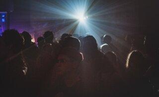 ФОТО И ВИДЕО | Дома Пярну стали объектами светового искусства