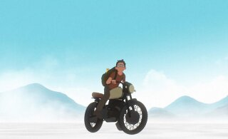"""PÖFFil linastuva Läti animafilmi """"Koduteel"""" looja oli filmi tehes ise kui eksinud poiss salapärasel saarel"""