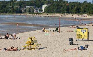 Ветер унес с пляжа на Штромке сотни тонн песка. Вместо него привезут другой за 10 000 евро