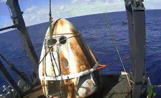 SpaceX-i õnnetus tõotab mehitatud kosmosekapsli lennu edasi lükata
