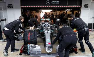 Valtteri Bottas oli Barcelona testimise kiireim