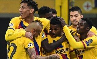 BLOGI | Kahe minutiga kaks väravat löönud Liverpool pääses edasi, 17-aastane Barcelona imelaps kukutas Interi