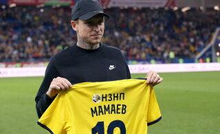 Мамаев забил первый гол после тюрьмы
