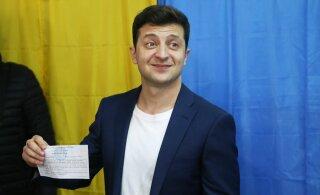 Volodõmõr Zelenskõi võitis Ukraina presidendivalimised ülekaalukalt