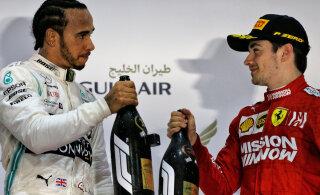 Hamilton Leclerci äpardusest: ilmselt oli see kommunikatsiooniprobleem