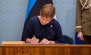 President Kaljulaid: teen ettepaneku valitsuse moodustamiseks Reformierakonnale