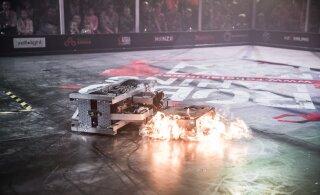 ФОТО: В Тарту состоялась битва роботов