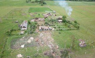 FOTOD JA VIDEO | Eile hävitas tornaado Lätis talu
