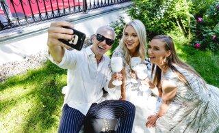 FOTOD | Luksuslik šampanja, jumalik söök ja meelelahutus - šampanjapidu meelitas brunchile lõbusa seltskonna!