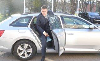 ФОТО: Керсти Кальюлайд встречается с кандидатами в министры Урмасом Рейнсалу и Мартом Хельме