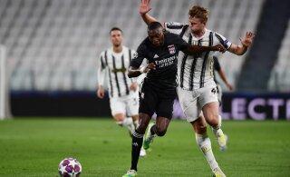 Meistrite liiga: Lyon kukutas Juventuse konkurentsist, Manchester City alistas Madridi Reali