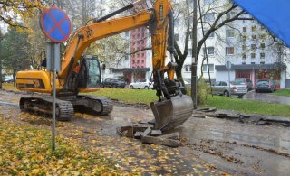 В Кристийне начался долгожданный ремонт улицы Кирси