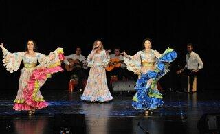 Вечер цыганской песни и танца 28 июля в уютном Курзале Хаапсалу