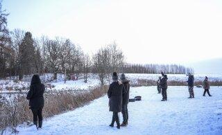 ФОТО: Ледяное колесо Вана-Вигала больше не вращается, но продолжает привлекать туристов