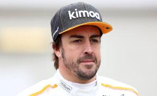 Vormelisarja naasev Alonso: stopper on tähtsam kui vanus