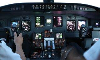 Летевший во Францию самолет Nordica из-за неисправности был вынужден вернуться в Таллинн: пассажиры испугались