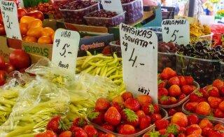 SUUR HINNAVAATLUS | Vaata, mis hinnaga müüakse Eesti turgudel värskeid aiasaaduseid!