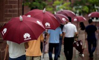Huawei tunnistas, et USA sanktsioonid on ettevõttele tugeva löögi andnud