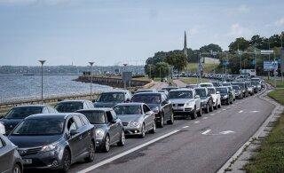 Через два десятка лет на Пирита теэ у автомобилистов возникнут серьезные проблемы