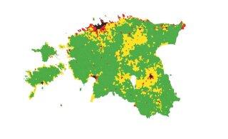 КАРТЫ: Несправедливо? Смотрите, какие ставки земельного налога действуют в разных уголках Эстонии сейчас