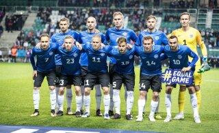Saksamaa - Eesti jalgpallimängule saab pileteid osta kuu lõpuni