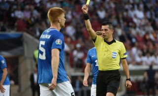 Euroopa liiga play-off mängu Zagrebis vilistab Florale ja Eesti koondisele tuttav Türgi kohtunik
