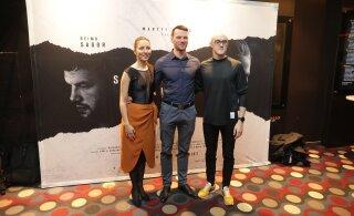 """FOTOD   Vaata kirevat seltskonda, kes kogunes mängufilmi """"Skandinaavia vaikus"""" esilinastusele"""